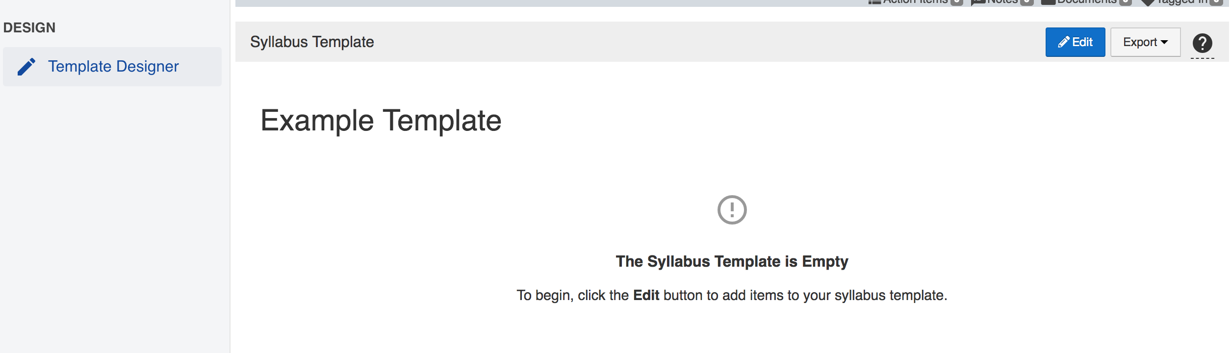 How to Create a Syllabus Template – AEFIS Academy